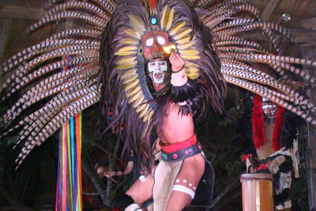 Huichol Dance During Azamara's AzAmazing Evenings